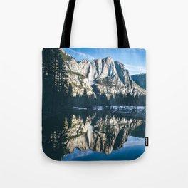 Yosemite Falls Reflection Tote Bag