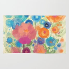 Flower Power Garen by Odette Lager Rug