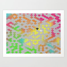 japanese pattern Art Print