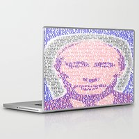 putin Laptop & iPad Skins featuring the world is mine by KrisLeov