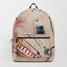 Guitar art 13 #guitar #music Backpack