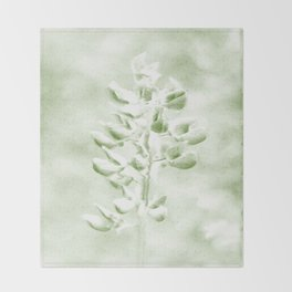 Lupine in Vintage color #decor #society6 Throw Blanket