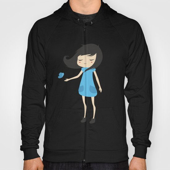 Girl and a Butterfly 2 Hoody