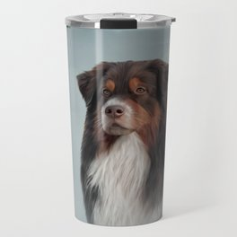 Australian Shepherd dog Travel Mug
