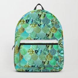 Mermaid Skin Shimmer Backpack