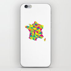 Abstract France Bright Earth iPhone & iPod Skin