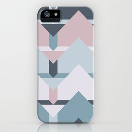 Scandi Waves #society6 #scandi #pattern iPhone Case