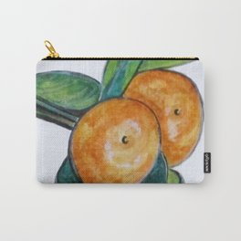 Two Oranges Carry-All Pouch