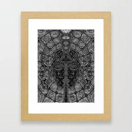 Another Face Framed Art Print