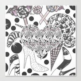 I Candy Canvas Print