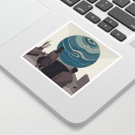 Center Sticker