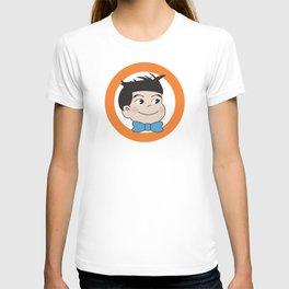 Mabo in ring of orange T-shirt