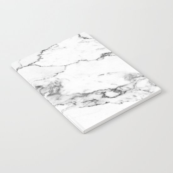 White Marble I Notebook