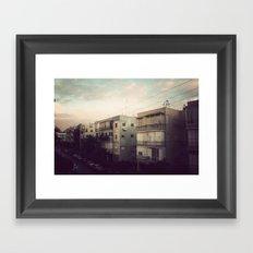 Tel Aviv Framed Art Print
