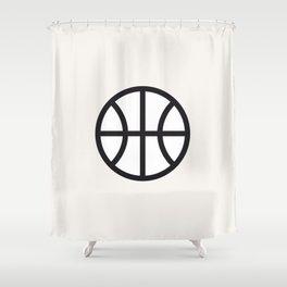 Basketball - Balls Serie Shower Curtain