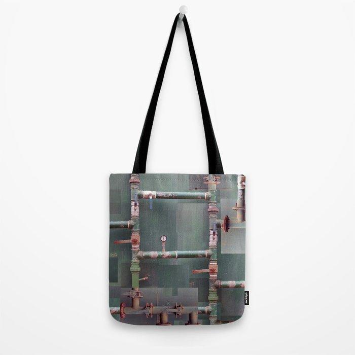 Industrial veins Tote Bag