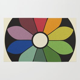 James Ward's Chromatic Circle Rug