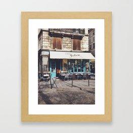 Chez Julien, Rue des Barres, Paris II Framed Art Print