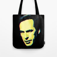 "better call saul Tote Bags featuring Breaking Bad ""Better Call Saul"" by Steal This Art"