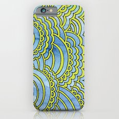 Water & Color Drawing Meditation - Lime iPhone 6s Slim Case