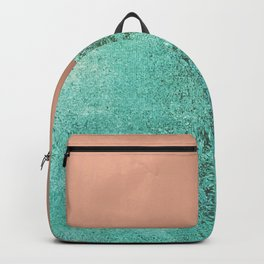 NEW EMOTIONS - ROSE & TEAL Backpack
