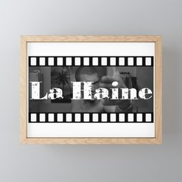 La haine Framed Mini Art Print