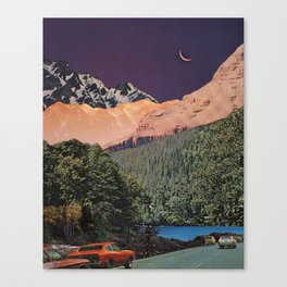 Transdimensional Pull-Over Canvas Print