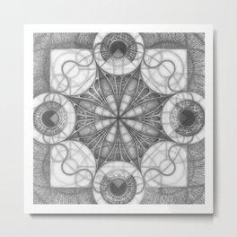 Fibonacci rings Metal Print