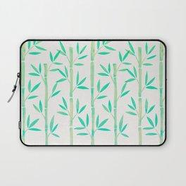Bamboo Stems – Mint Palette Laptop Sleeve