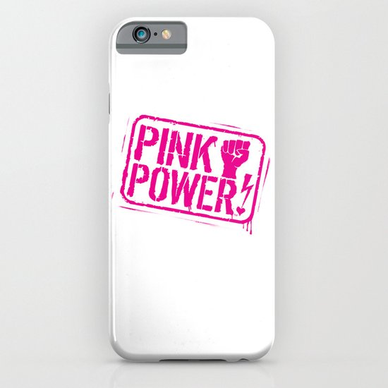Pink Power! iPhone & iPod Case