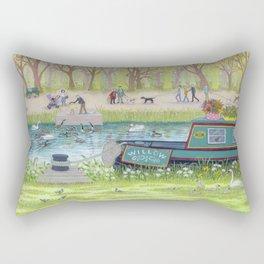 Canal walk Rectangular Pillow