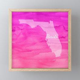 Sweet Home Florida Framed Mini Art Print