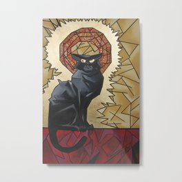 The Cat Noire Metal Print