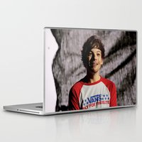 louis tomlinson Laptop & iPad Skins featuring Louis Tomlinson on Stage by tescotommo