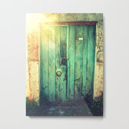 door in bodrum Metal Print