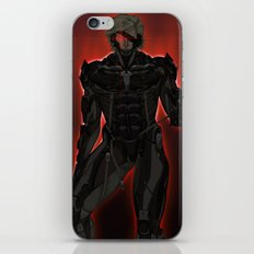 UNPLUG - Red iPhone & iPod Skin