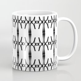 Eta - Greek Fonts Patterns_Alphabet Coffee Mug