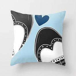 Brogues love Throw Pillow