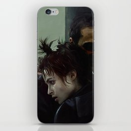An Embrace With Marla Singer - Fight iPhone Skin