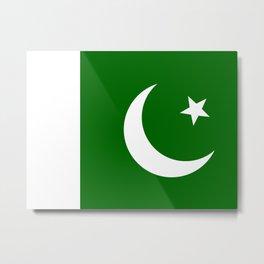 Pakistan national flag Metal Print