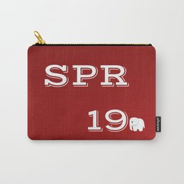 Spring 19 Red and White Limited Edition Carry-All Pouch