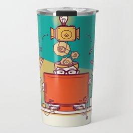Designer at work Travel Mug