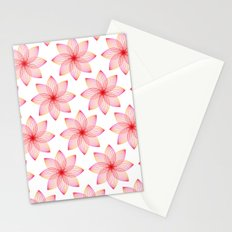 Gradient Strings Blossoms Stationery Cards