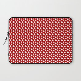 Cute Canada Flag Pattern Laptop Sleeve