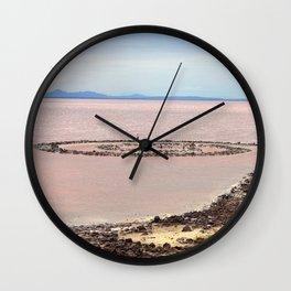 Spiral Jetty Wall Clock