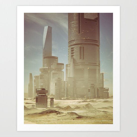 RECOTR.STATION6.00  (everyday 03.06.16) Art Print