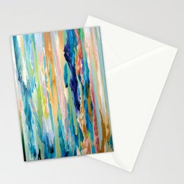 Forgotten Moire Futures Stationery Cards