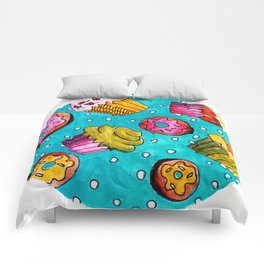 Muffins and doughnuts Comforters