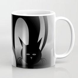 dreaming of mooncats bw -2- Coffee Mug
