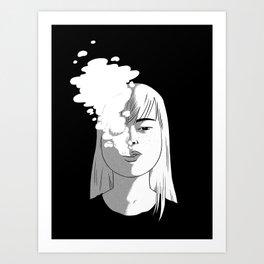 ssssmokin' Art Print